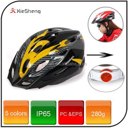 Hot sale bike helmet 5 color bike accessory bicycle helmet cover with led rear light for road bike mountain bike