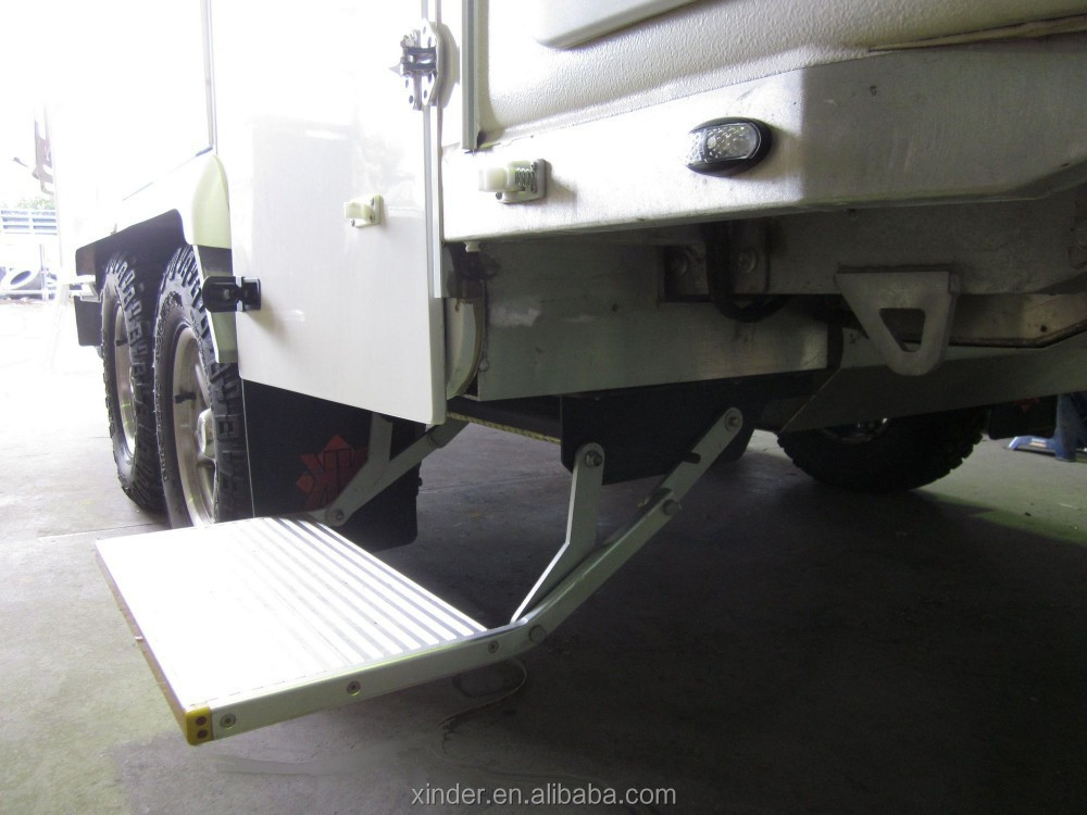 Es F S Electric Folding Single Step With Led For Van