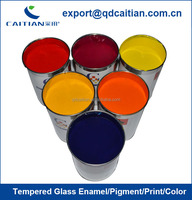 Tempered Glass Pigment