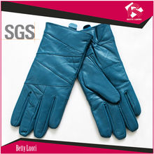 2015 Basic Winter Personalized Winter Gloves/ Sheep Leather Gloves With SGS Certification