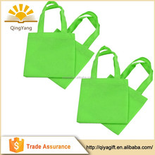 Small Non-woven Reusable Kids gift Carrying Shopping grocery non woven tote bag