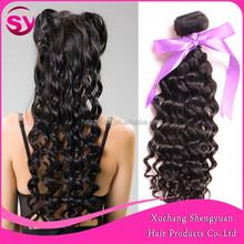 Grade 6A Virgin Indian Deep Curly Hair, Unprocessed Wholesale Human Virgin Indian Hair