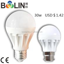 30W cool white led ,aluminium base led,auto led