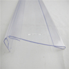 Data strip pvc supermarket plastic extruded sign holder (Soft and hard coextrusion LC-458)