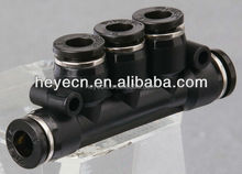 5 Ports Pneumatic Push Fitting Quick Plastic Connecting Pipe Tools