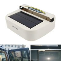Solar Ventilation System Radiator Car Auto Air Vent Cool Cooler Fan