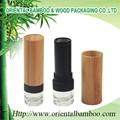 Bls-019 vacío hechos a mano de bambú tubo de lápiz labial