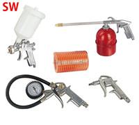 5pcs Air spray gun kit Air Tools Kit /blow gun