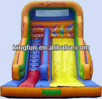2013 best seller PVC inflatable slide for adults and kids