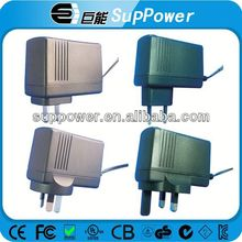 Portable 5v 9v 12v 24v universal adapter wall mount adpter