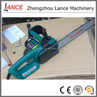hot sale La-S7018 large power lumbering chainsaw/ electric start gas chain saw