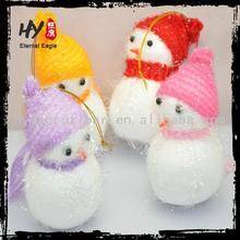Multi-purpose beautiful and cute bowknot christmas small hanging, christmas tree pendant snowman