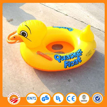 2015 summer toy inflatabkle duck seat PVC baby inflatable swimming set