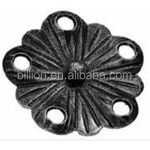 high quality Decorative gate Ironwork Leaves & Flowers design