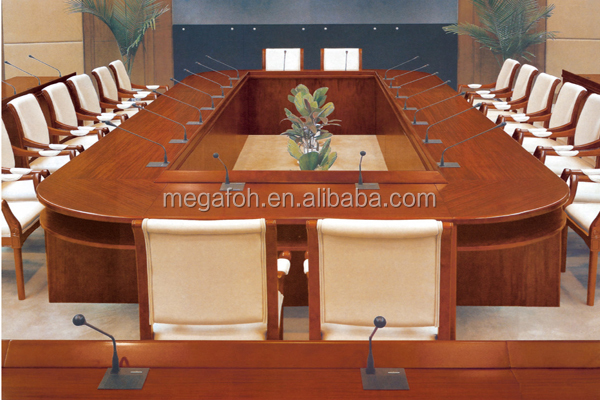 High End Oval Shape Conference Roomboardroom Table With American - Oval shaped conference table