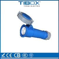 3 Way Plastic Electrical Male And Female IP67 Waterproof Connector
