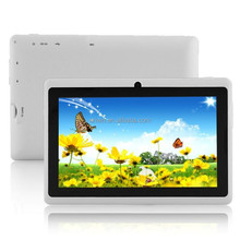 Android tablet 7 inch Allwinner A33 quad core cheap price kids tablet pc Q8 computer wholesale