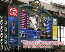Alibaba ShenZhen electronic xxx photos p10 led baseball digital scoreboard