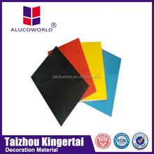 Alucoworld pvdf coating surface treatment acp color chart