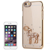 China supplier Sheep Pattern Transparent Plastic case for iPhone 6 plus