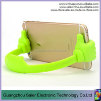 small size tpu spring steels mobil phone holder stand cute ok hand shape