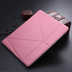 LETSVIEW Luxury Ultra Slim Magnetic Smart Leather Case Cover For ipad 2 3 4 Wake Up Sleep Fold Stand Soft Flexible Back Case