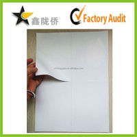 2015 Inkjet laser printer blank white self adhesive paper half sheet shippig labels