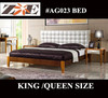 NEW MODEL SIMPLE BED WITH MATTRESS WOODEN BED