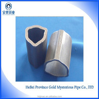 Outer tube 20-60mm cold drawn triangular steel pipe for agricultural machine part