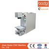 China direct sale 10w Portable fiber laser marking machine 2 years warranty ISO CE FDA BV