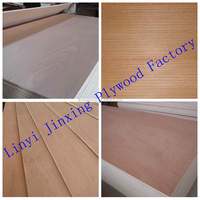High Quality Black Hickory Plywood/ Walnut Plywood for Decoration