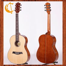 36 inch acoustic guitar spruce solid steel string acoustic guitar
