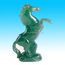 custom artificial hand painted horse polyresin decorative crafts