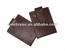10011 2015 Leather purse for coins pouch organizer purse