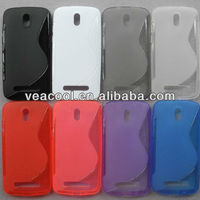 New S Line TPU Silicone Gel case for HTC Desire 500