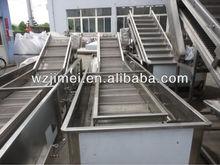 Stainless Steel Mesh Conveyor Fruit Washing Machine