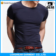 Professional factory cheap price high quality customized OEM service export 95% cotton 5% spandex t-shirts