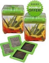 2015 new Chop Magic Food Chopper Fruit Vegetable Slicer Manual Processor