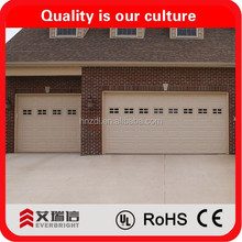 sectional garage doors with CE and garage door prices lowes
