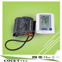 Digital Large LCD high memory Upper Arm BP Meter best 24 hour arm hospital blood pressure monitor