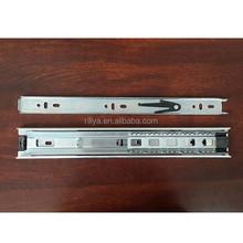 Bottom mount ball bearing drawer slide,telescopic slides track for stainless steel chest of drawer