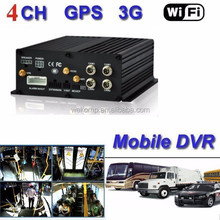 Real time 4G 3G Wifi GPS Track Mobile DVR vehicle mobile app monitoring DVR