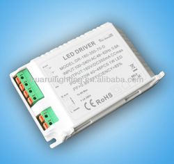 led power supplies Triac Dimmable 70W with ETL/UL led driver for led indoor lighting constant voltage12/24V constant current