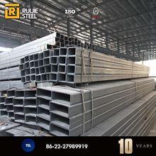 Q235 mild square carbon steel material mill certificate q345b pipe certificate squre steel pipe