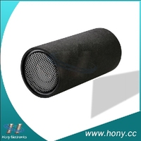 Factory price 12 inch high quality bass tube/felt car subwoofer