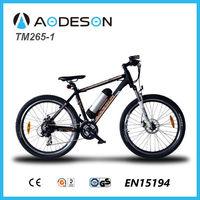 "26"" Long Range E Mountain Bike, E Cycle Electric Bike TM265-1"