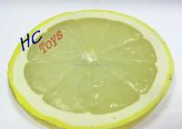 Plastic Lemon Slice, PVC Simulation Food Gift, OEM Food Model
