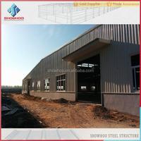 industrial construction light steel galvanized warehouse sandwich panel prefabricated steel structure building