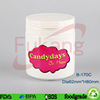 170CC With Printed Label Round White Plastic Candy Bottles