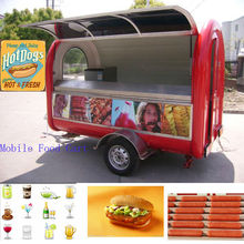 2014 China Made Electric Mobile Hot Dog Cart for Sale JC-3300